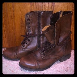 Steve Madden Troopers 9 BROWN